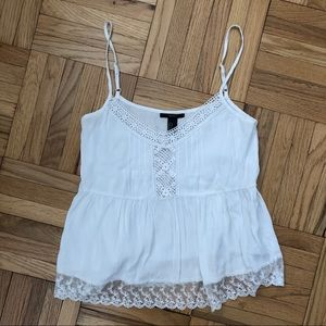 Final moving sale!! F21 white camisole